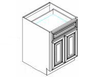 Espresso Cabinets - B24-CB