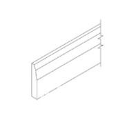 Antique White Cabinets - French Vanilla - Base Molding  BM8-4 1/2 - 4 1/2W X 3/4D X 96H - BM8-4 1/2-FV