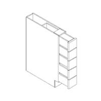 Espresso Cabinets - BWRC6-CB