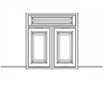 Espresso Shaker Cabinets - DCSF36K-ES