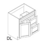 RTA Espresso Cabinets - FA3021DL-CB