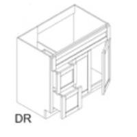 RTA Espresso Cabinets - FA3621DR-CB