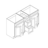 RTA Espresso Cabinets - FA6021DD-CB