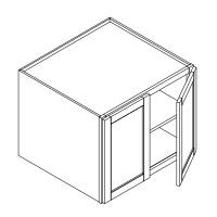 RTA Espresso Cabinets - W332127-CB