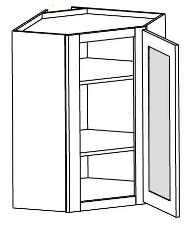 Grey Shaker Kitchen Cabinets Wall Glass Door Corner Cabinet 27