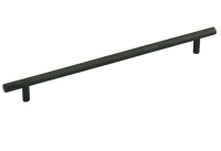 """Kitchen Cabinet hardware - Archipelago - 12-5/8"""" overall length bar cabinet pull. Holes are 320mm center-to-center. 9/16"""" Diameter. Packaged with two 8/32"""" x 1"""" screws Finish: Oil Rubbed Bronze - 370ORB/305"""