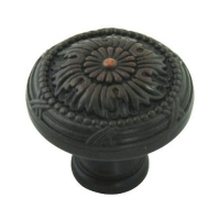 Kitchen Cabinet hardware - Marseille Collection - 1-1/4 Inch Diameter Mushroom Cabinet Knob from the Marseille Collection Oil Rubbed Bronze - 751-ORB/9460