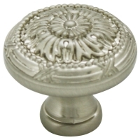 Kitchen Cabinet hardware - Marseille Collection - 1-1/4 Inch Diameter Mushroom Cabinet Knob from the Marseille Collection Satin Nickel - 751-SN/9460