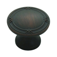Kitchen Cabinet hardware - Marseille Collection - 1-5/16 Inch Diameter Cabinet Knob from the Marseille Collection Oil Rubbed Bronze - 752-ORB/9462
