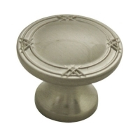 Kitchen Cabinet hardware - Marseille Collection - 1-5/16 Inch Diameter Cabinet Knob from the Marseille Collection Satin Nickel - 752-SN/9462