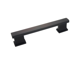 """Kitchen Cabinet hardware - Arteco Collection - 5-1/16"""" overall length cabinet bar pull. Holes are 4"""" center-to-center. Packaged with two 8/32"""" x 1"""" screws. Finish: Oil Rubbed Bronze - 892ORB/702"""