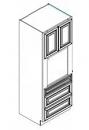 RTA White Shaker Cabinets - O338424-KSW