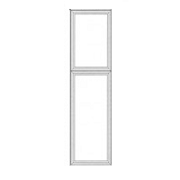 Dream Kitchens - Cinnamon Maple Glazed Maple - Base Dummy Door BDD8427 - 27W X 3/4D X 84H - BDD8427-CIN