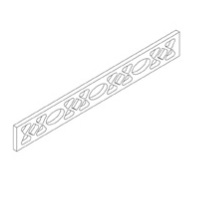 Dream Kitchens - Cinnamon Maple Glazed Maple - Valance  V30A - 30W X 3/4D X 4 1/2H - V30A-CIN