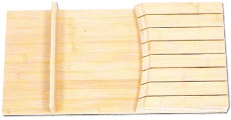 "Cabinet Organizer - Knife Block Insert. Fits into a B15. DB15 drawer or single side B30. 9 3/4""W x 19 7/8"" D x 2""H"