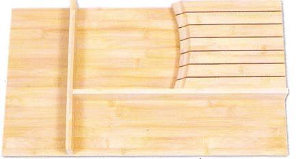 "Cabinet Organizer - Knife Block Insert. Fits a B18, DB18 Drawer or single side B30. 12 3/4""W x 19 7/8""D x 2""H"
