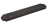Kitchen Cabinet hardware - Backplates For Pulls Oil Rubbed Bronze 96mm - B812-96ORB/B-112