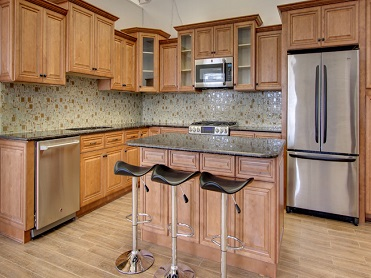Cinnamon Shaker Kitchen Cabinets
