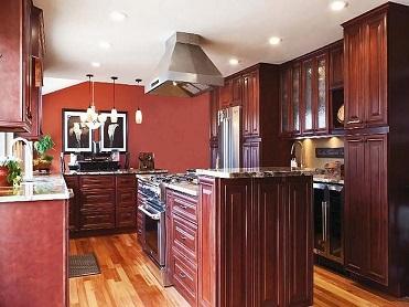 Quality Cabinets - Mahogany Maple Cabinets