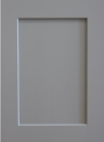 Pearl Gray Shaker - Sample Door