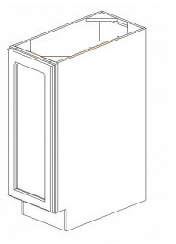 Cream Kitchen Cabinets - BT9-LF-YW
