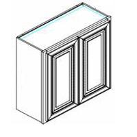 RTA Antique White Cabinets - W2430-FV