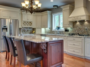 Genial Antique White Kitchen Cabinets